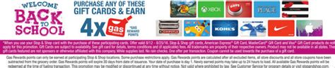Stop And Shop Gift Cards Gas Points - stop shop giant 10 off next order when you purchase 100 in gift cards or 4x fuel