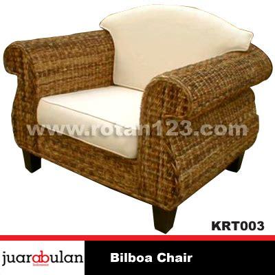Kursi Rotan Alami harga jual bilboa chair kursi rotan alami model gambar