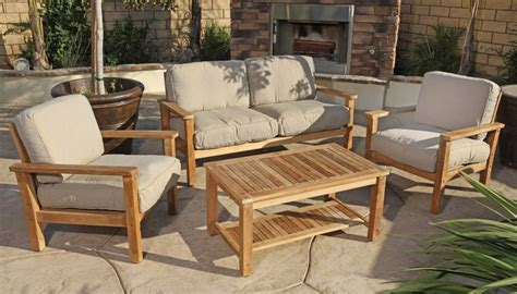 Best Wood For Furniture by Teak Outdoor Sofa Set The Best Wood Furniture