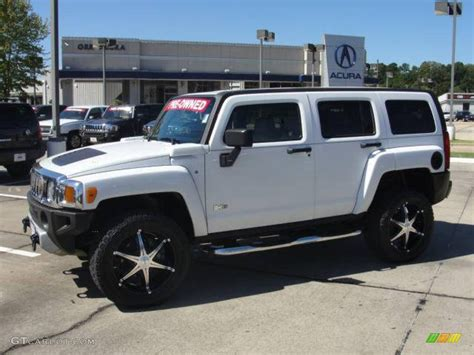 hummer jeep white pics for gt white hummer h3 lifted
