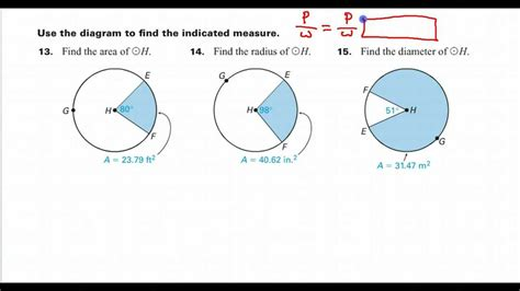 How Do You Search For Day 01 Hw 14 How Do You Find The Radius Given The Sector Area