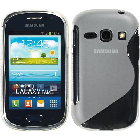 Silikon Samsung Fame silikon h 252 lle f 252 r samsung galaxy fame s style 2