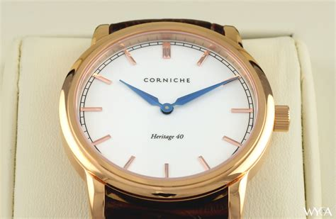 corniche watches review corniche s heritage 40 review reviews wyca