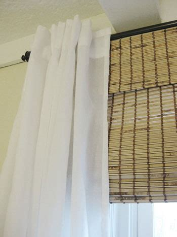 bamboo blinds with curtains our go to list of go to sources young house love