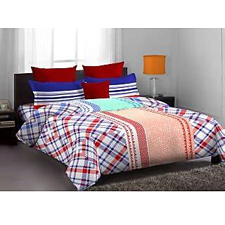 home expressions bedding buy home expressions usa lorrian bed set red online shopclues com