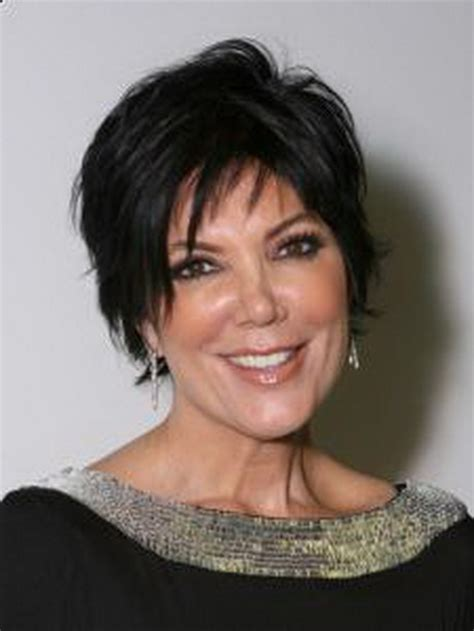 hair cut short like kris kardashian jenner and the technical kris jenner hairstyle ideas for women fashion hairstyles