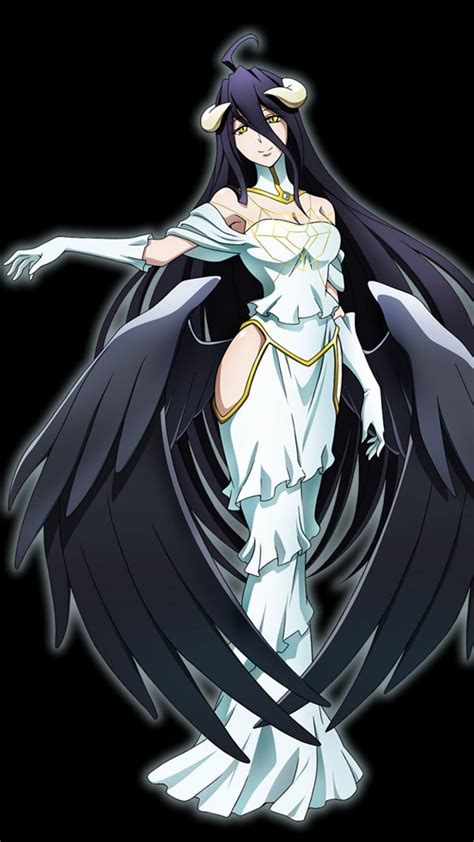 overlord anime wallpaper android overlord albedo sony xperia s wallpaper 720x1280