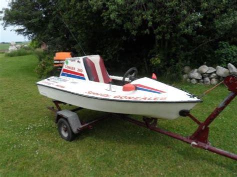 1 persoons speedboot snelle speedboot spit fire motorboot boot advertentie 596956