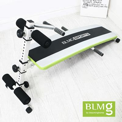 qoo10 blmg sg pastel sit up bench singapore exercise