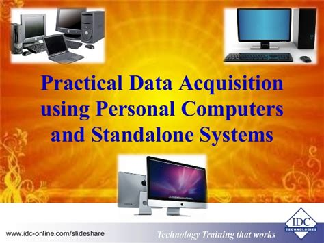 practical data acquisition using personal computers and