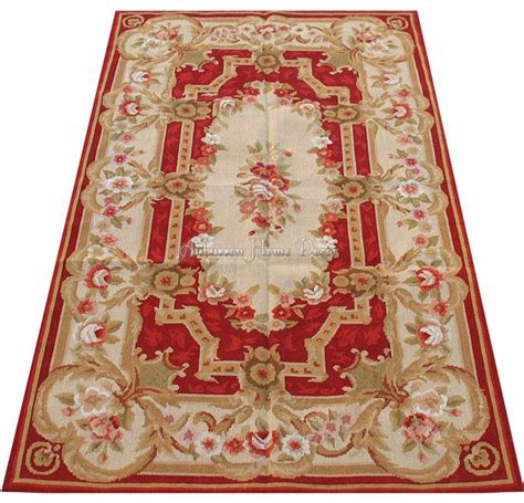 best time to buy rugs 3x5 wool needlepoint rug burgundy ivory beige shabby chic aubusson design decrative home