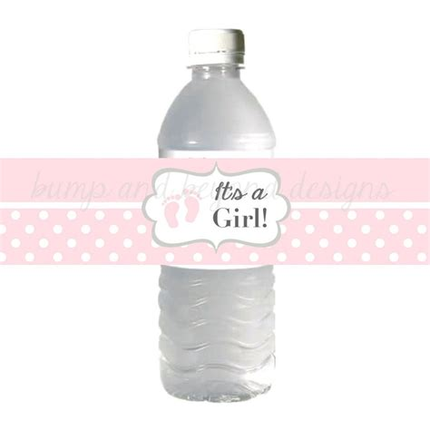 Water Bottle Baby Shower Labels by Water Bottle Labels Baby It S A By