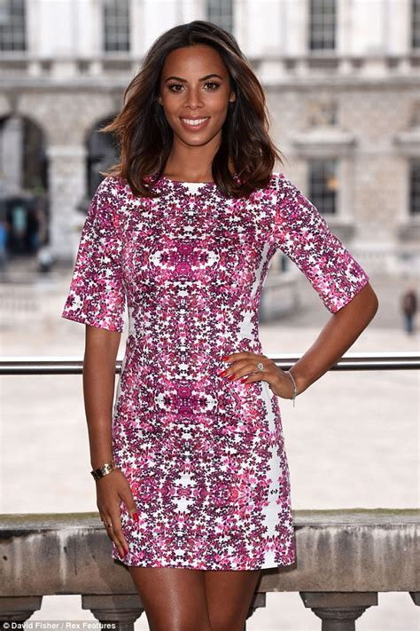 She Hers Perlak Mini By She Hers rochelle humes showcases slender legs in eye catching
