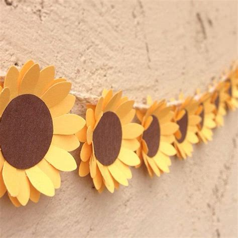 Sunflower By Paper - 25 best ideas about paper sunflowers on
