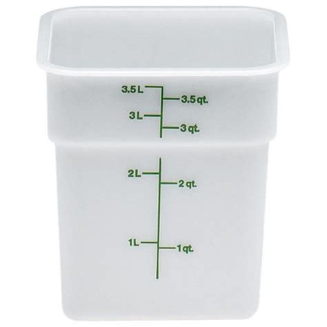 bulk storage containers for kitchen food cambro 4sfsp camsquare 4 qt food storage container