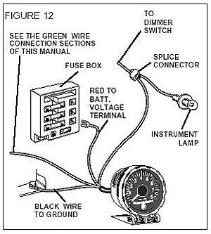 wiring diagram for sun tach ii 36 wiring diagram