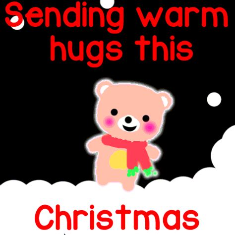 sending warm hugs  christmas  hugs ecards greeting cards