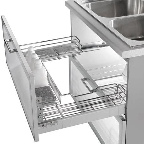 accessori interni per mobili da cucina cestelli estraibili per mobili cucina design casa