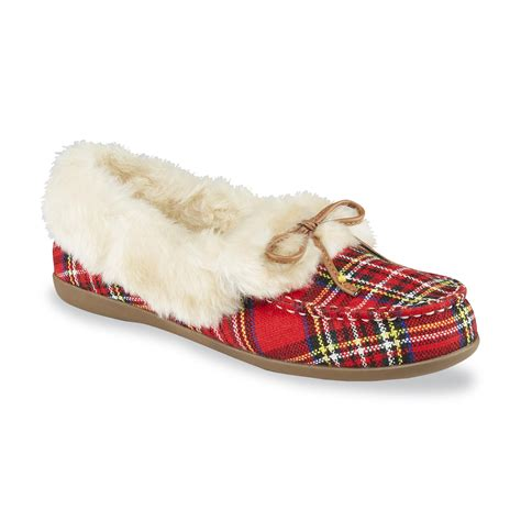 womens comfort slippers vionic women s juniper moccasin comfort slipper red
