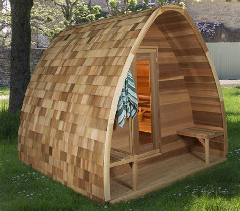 pod rain drop sauna 8x6 dundalk ontario canada