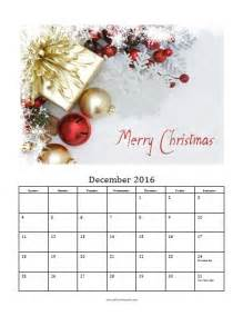 free photo calendar templates december 2016 photo calendar template free printable