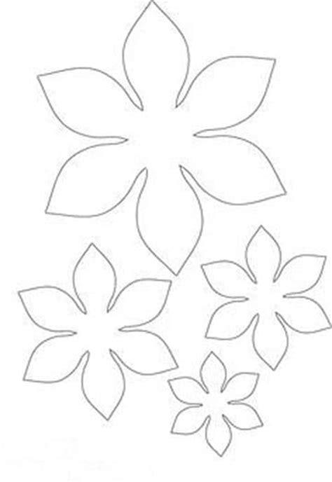 pattern for butterfly jasmine paper flower moldes de flores de papel gigantes en cartulina para boda