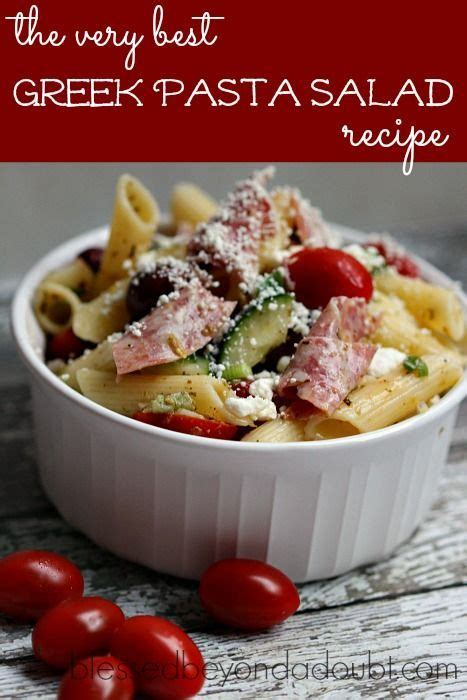 greek pasta salad the blond cook 396147 best the group board on pinterest images on