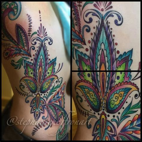 colorful henna stephanieheffron colorful henna design henna colorful