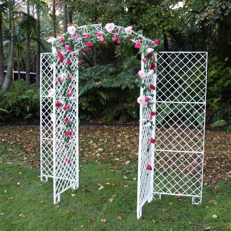 Wedding Arch Hire Nz by Wedding Arch White Fibreglass Harrisons Hiremaster