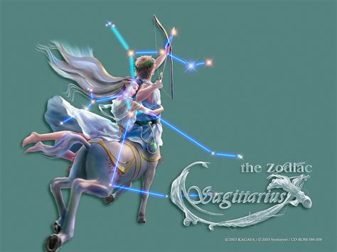 zodiac images sagittarius hd wallpaper and background