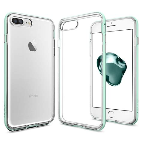 Spigen Iphone 7 Plus Neo Hybrid Clear Diskon 1116 spigen neo hybrid skal till iphone 7 plus mint