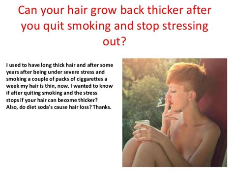 What Can I Do To Stop Hair From Shedding by Can Your Hair Grow Back Thicker After You Quit And