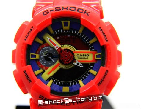 G Shock Collour g shock ga 110fc 1 hyper color by www g