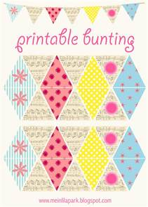 bunting printable template free printable diy bunting with vintage flair