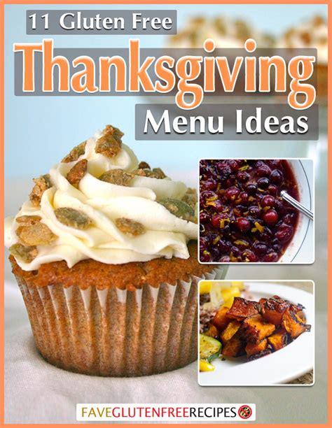 gluten free dinner menu ideas new ebook 11 gluten free thanksgiving menu ideas