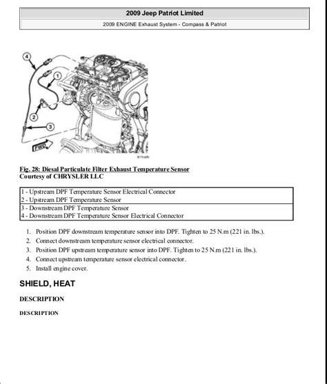 2009 Jeep Patriot Owners Manual 28 2009 Jeep Patriot Repair Manual 79108 2009 Jeep