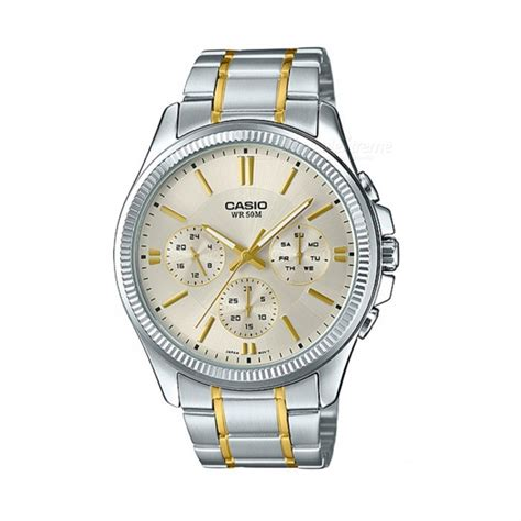 Casio Quartz Mtp 1247d 9avdf casio mtp 1375sg 9avdf analog silver golden without box free shipping dealextreme