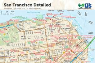 san francisco california maps california