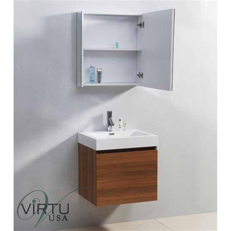 bathroom vanities made in usa 24 quot zuri single sink bathroom vanity set by virtu usa made