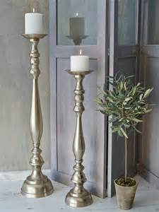 antique gold floor candlesticks