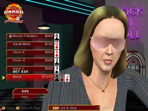 world poker championship  final table showdown   simulation game