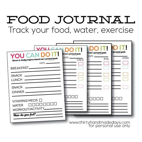 printable daily food intake journal 1000 ideas about food journal printable on pinterest