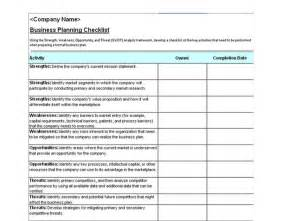 bussiness template business plan checklist business plan checklist template