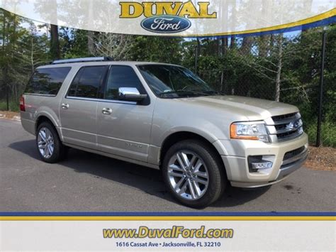 Expedition E6381 Gold White For 2017 ford expedition el platinum rwd suv for sale in jacksonville fl hea43851