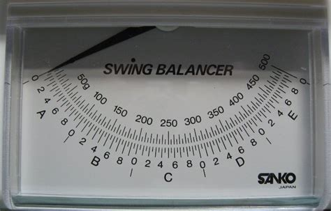 swing scale swingweight