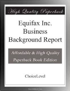 Equifax Background Check Equifax Credit Report Fico Score Promo Code