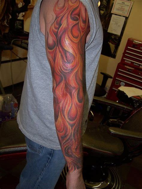 tribal flame sleeve tattoo 25 best ideas about tattoos on evil