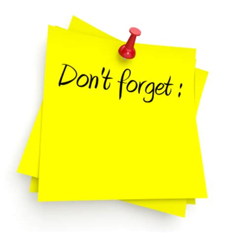 Sticky Notes Reminder Post It Memo Catatan Tempel Karakter Sno002 don t forget west geauga after prom