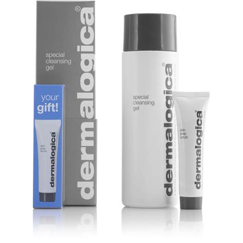 Scrub Dermalogica dermalogica special cleansing gel 250ml with skin prep scrub gratis levering