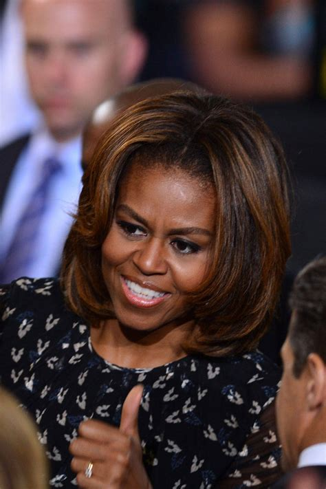 obama hair color michele obama new hair color michele obamas new hair color